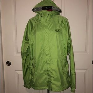 Mountain Hardwear Dry Q Jacket Rain Coat Women XL
